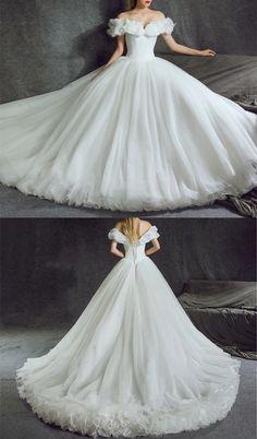 Cinderella Wedding Dresses,Ball Gowns Wedding Dress,Wedding Dresses 2018,Fairy Tale Bridal Collection 2018
