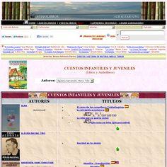 Audiolibros infantiles y juveniles basados en famosos escritores. 'http://albalearning.com/audiolibros/cuentosinfantiles.html' snapped on Snapito!
