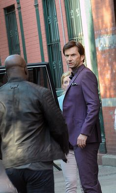 David Tennant from the upcoming Jessica Jones series on Netflix.