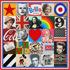 Please, please, please Santa, I have been good this year.  Sources Of Pop 7 by Sir Peter Blake - ok, so I know it's sold out, but Santa will pull it out the bag. Or should I say stocking?