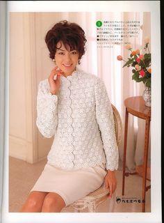 Chinese knitting crochet magazine, free patterns