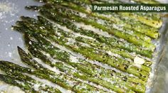 Shake up your regular side dish rotation with this easy and delicious Parmesan Roasted Asparagus recipe, complete with photo tutorial. Healthy Side Dishes, Vegetable Side Dishes, Side Dish Recipes, Healthy Sides, Healthy Cooking, Cooking Recipes, Healthy Recipes, Fall Recipes, Healthy Food