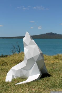 NZ Sculpture OnShore Nov 2012.... Heaps more photos and info on my site!