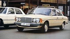 Taxi - Mercedes-Benz W123 (1975 - 1982) ☺
