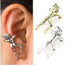 2017  New Fashionable  Beautiful Jewelry Climb Villain Ear Clip on Earring  Mix Colors  Wholesale  M-C141