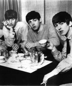 Richard Starkey, Paul McCartney, and George Harrison