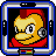 """Press Start"" : The Mega Man Robot Masters 2000+ Bead Counts by Stefan Purdy — Kickstarter"