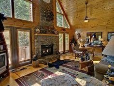 Luxury Cabin Rentals in Blue Ridge, Georgia.  http://www.mountaintopcabinrentals.com