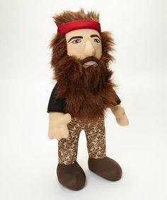 Look at this #zulilyfind! Duck Dynasty Talking Willie Plush Toy by Duck Dynasty #zulilyfinds