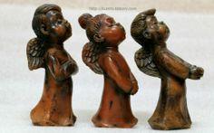 금희의 앤틱창고 :: 찬양하는 여자아이 천사/독일작품초/Engel/Beeswax candle