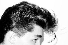 real man's hair cut