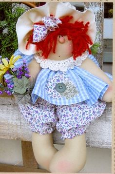 The Pattern Hutch -Country Hearth New Cloth Doll Company