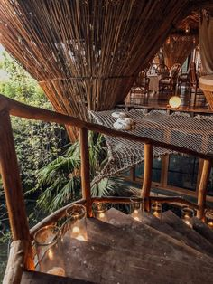 A Look Inside Azulik Tulum Treehouse Eco Resort – Tripping with my Bff Azulik Hotel Tulum, Forest Hotel, Forest Resort, Lake Forest, Tree House Resort, Costa Rica, Wooden Path, Bamboo House Design, Viajes