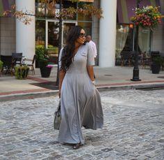 Road to Fashionable: maxi dress