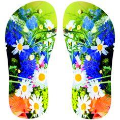 Estampa para chinelo Floral 000566