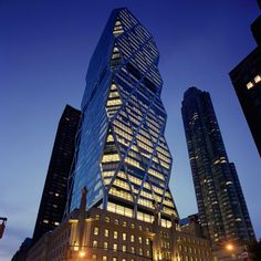 Norman Foster has marked the decade anniversary of the Hearst Tower's completion by narrating a film captured using an unmanned aerial vehicle.
