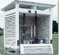 Stevenson Screen, for the weather station.