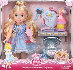 Amazon.com: Disney Princess and Pet Party - Cinderella: Toys & Games