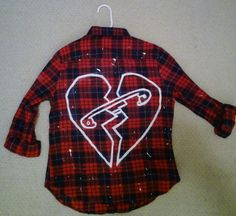 LIMITED TIME 5 Seconds of Summer New Broken Scene Flannel