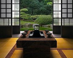 5 Design Tricks To Borrow From The Japanese.  The Japanese are known for sleek, polished and impeccably organized spaces. From the stately architecture of religious temples to the tranquil atmosphere of a traditional tea house, beautiful design inspiration is everywhere.  http://www.huffingtonpost.com/entry/japanese-home-design-tricks_us_56cdf7dae4b041136f192532  #AluminumFences #homedesigntricks #homedecor