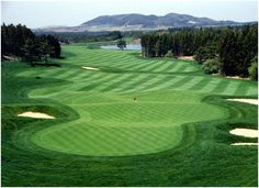 One of the most beautiful courses, Nine Bridges in South Korea  Located on a volcanic island off South Korea, Nine Bridges has an excellent design, bent grass fairways and pristine greens make it one of the most attractive golfing options in Far East.