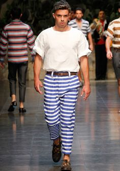 Dolce & Gabbana Collection Men Fashion Show Spring Summer 2013