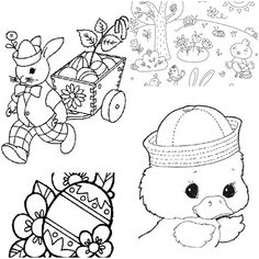 27 Kids Easter Games, Coloring Sheets, and Printables! - Tip Junkie