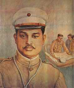 """""""General Antonio Luna"""" by EZ Izon. By permission of the family and heirs of the late artist."""
