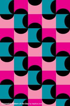Kapitza - geometric pattern of the day