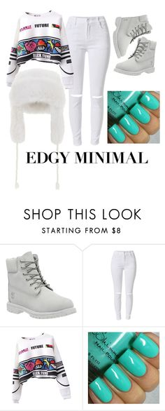 """""""Untitled #151"""" by vashtilink on Polyvore featuring Timberland and BCBGMAXAZRIA"""