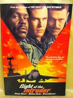Movie Program Japan- FLIGHT OF THE INTRUDER /1991/ DANNY GLOVER, WILLEM DAFOE