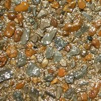 Aggregate concrete cleaning and sealing