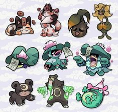 Oc Pokemon, Pokemon Sketch, Pokemon Fake, Pokemon Fusion Art, Pokemon Eeveelutions, Pokemon Fan Art, Cute Pokemon, Pokemon Stuff, Game Character Design
