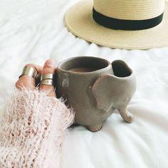 Plum & Bow Elephant Tea Mug - Urban Outfitters