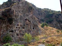 mugla fethiye ruins