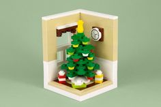 Lego Christmas tree instructions (and more...)