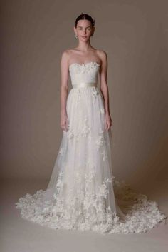 graceful Marchesa wedding dresses