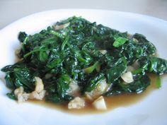 Spanac calit in stil chinezesc Seaweed Salad, Chinese Food, Ethnic Recipes, Blog, Salads, Chinese Cuisine, Blogging, China Food