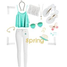 Spring by hlcollection on Polyvore featuring Paige Denim, rag & bone and Merkury Innovations