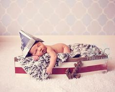 Create a nautical environ for baby's first photo shoot with this pint-sized wooden boat ($95). While the initial investment is a bit of a splurge, the boat will serve as a great decor piece in your baby's nursery long after your photo shoot's over.