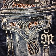 Love These Miss Me Jeans! I love the bling that Miss Me brings to jeans! Love Jeans, Miss Me Jeans, Jeans Pants, Denim Jeans, Shorts, Cute N Country, Country Girls, Country Outfits, Country Style