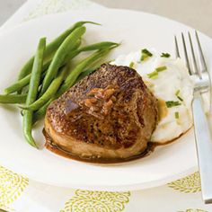 Filet Mignon with Port and Mustard Sauce Recipe