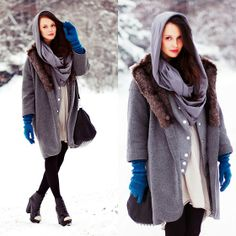 OVERSIZED COAT (by Karolina Ościk) http://lookbook.nu/look/4403915-OVERSIZED-COAT