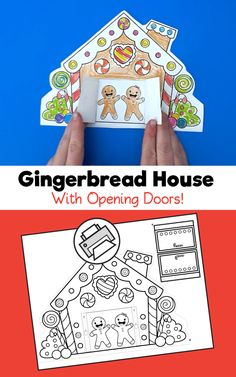 Gingerbread House With Opening Doors