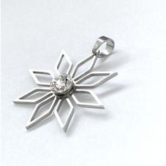Filigree Flower with 1088SS29 Pendant Type 1 Crystal2