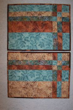 quilted placemat patterns | New Class by Jan Savu