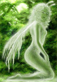 SciFi and Fantasy Art Lenina by Mark Ivan Cole