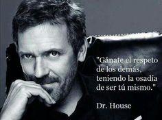 Dr. house. me encanta