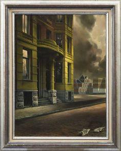 Carel Willink, Het gele huis, 1934.
