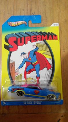 Hot Wheels Superman series Buick